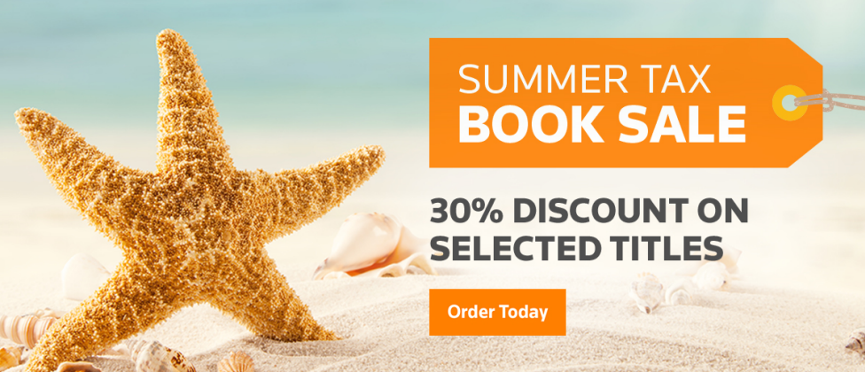 Summer sale on tax publication