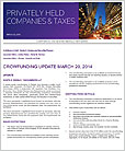 Privately Held Companies & Taxes