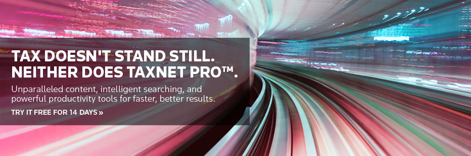 Register for a free 14 day trial of Taxnet Pro.