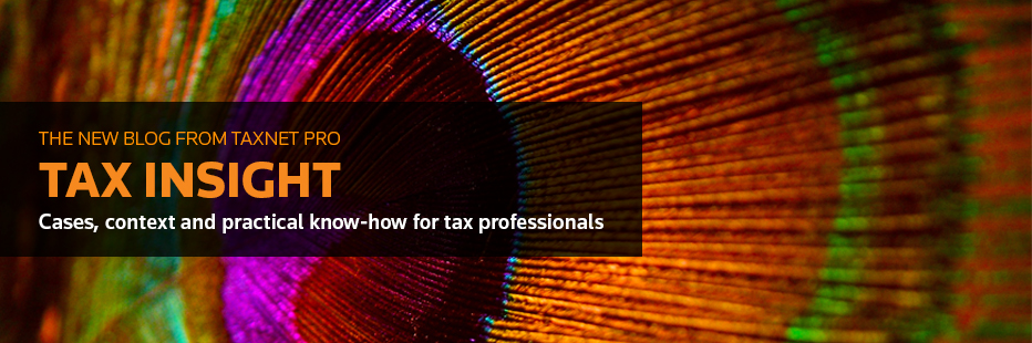 Tax Insight Blog on Taxnet Pro